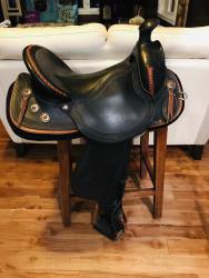 EASYFIT Western Dressage Saddle