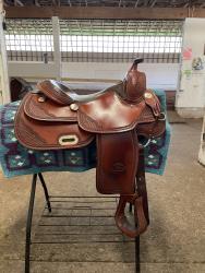 Billy Cook Pro Reining Saddle