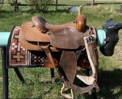 "16"" Cutting Saddle"