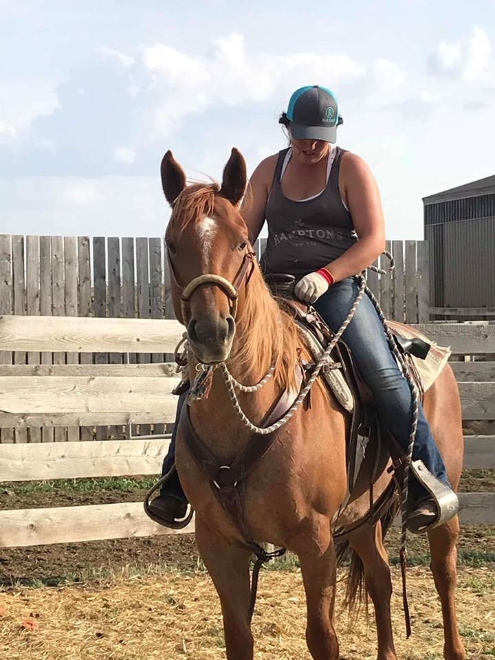 RIDING HORSE:  Bluewood Jacksors Up