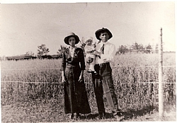 Original Homesteaders of this Farm - Bueford Sale and Bertha Gulick Sale.