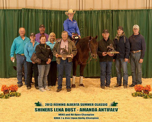 Reining Alberta Summer Classic 2013